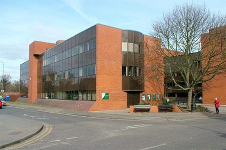 East Herts District Council offices. Pic: Melvyn Cousins, Geograph.org