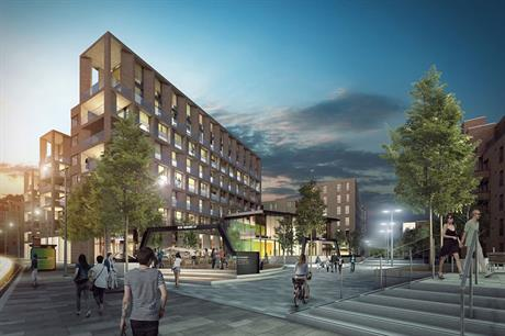 Fountainbridge, Edinburgh: build to rent