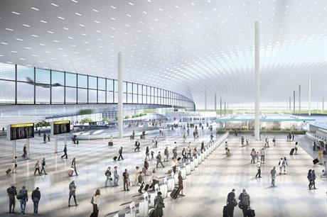 Gatwick: architect Sir Terry Farrell's latest designs for the airport (pic Farrells)