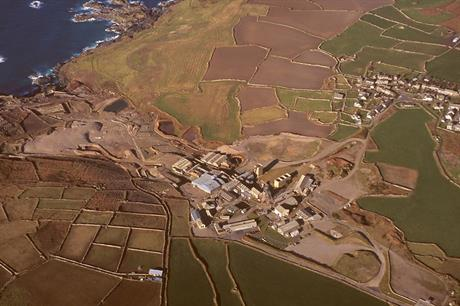 Geevor Tin Mine in the West of Cornwall (pic Copyright Cornwall Archaeological Unit, Cornwall Council)