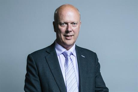 Chris Grayling: Approved orders relating to Stubbington Bypass. Image: Parliament