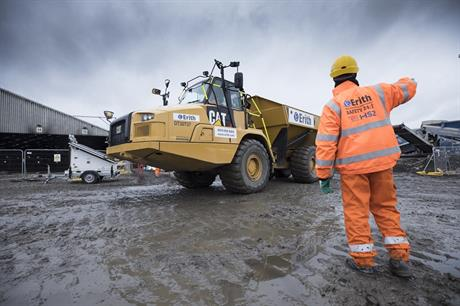 HS2 works taking place at Old Oak Common. Pic: HS2 Ltd