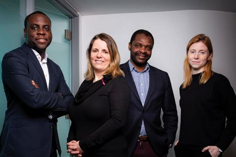 Key people: (from left) Jonathan Situ, Juliet Seymour and Dennis Sangweme, Southwark Council; Cleo Valentine, systems designer, Open Systems Lab