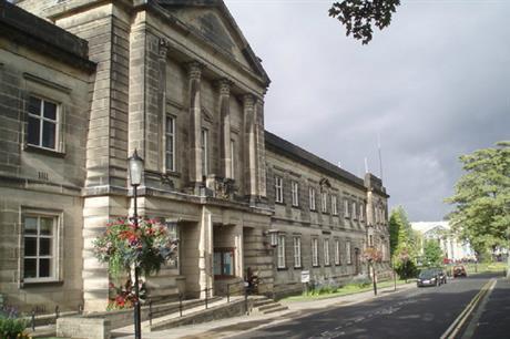 Harrogate Borough Council's offices. Pic: Paul Gillett, Geograph.org