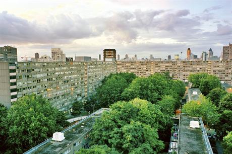 Heygate Estate: site undergoing comprehensive regeneration
