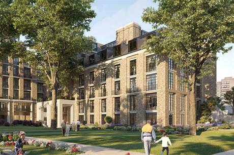 An artist's impression of plans for the redevelopment of Heythrop College in Kensington and Chelsea. Image: Westbourne Capital Partners
