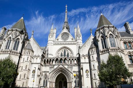 London's Royal Courts of Justice. Pic: Getty Images