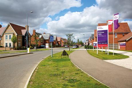 New housing: latest MHCLG figures show rise in permitted units