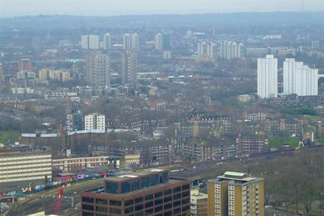 A view of Lambeth borough from the London Eye - image: Wikimedia Commons/Mikey (CC BY 2.0)