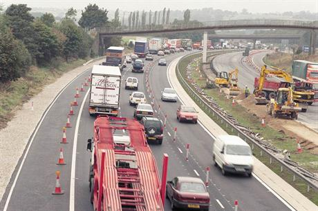 M1: scheme would provide more direct route for traffic between an industrial estate and the primary road network