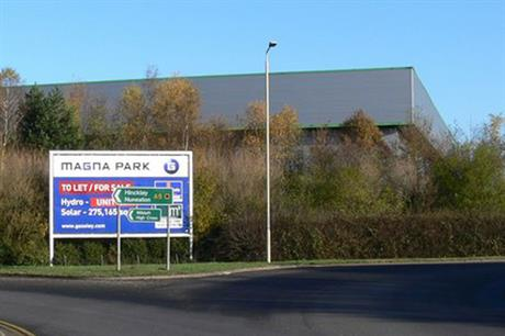 Magna Park: extension approved this year
