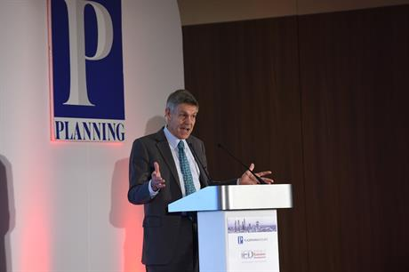 Political commentator Matthew Parris speaking at the IED Annual Conference 2017 this morning