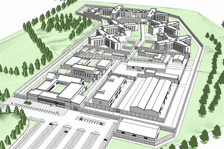 Plans for a 'mega-prison' have been approved in East Riding of Yorkshire. Image: MoJ