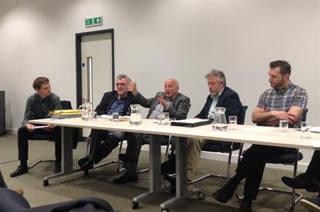 Members of RIG in a debate with NOVUS at the Planning Officers' Society's spring conference