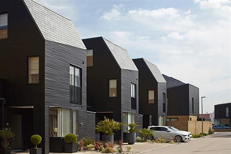 Design codes used at Newhall in Essex have allowed for a range of design styles. ©Getty Images