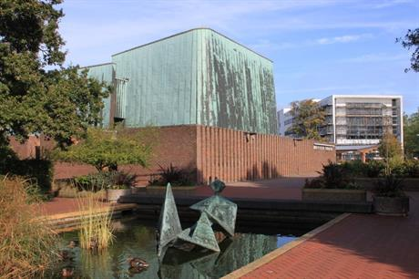 The Nuffield Theatre, Southampton, which went into administration in May. Image: Roger Davies (CC BY-SA 2.0)