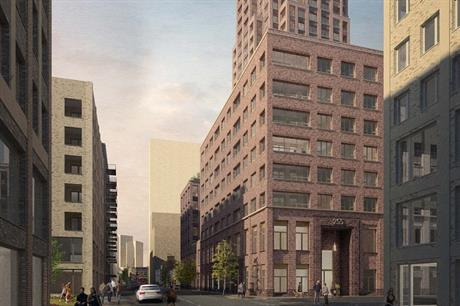 A visualisation of the Old Kent Road scheme. Pic: hgh consulting