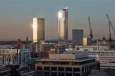 A visualisation of the One Heritage tower in Salford. Pic: OMI Architects