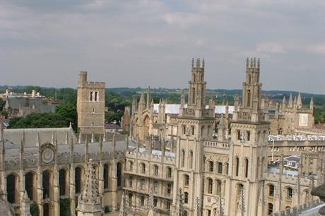 Oxford: housing growth planned