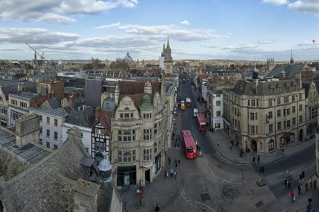 Oxford city centre. Pic: chensiyuan, Flickr.