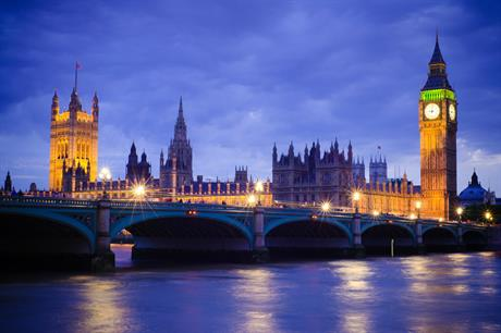 The Houses of Parliament. Pic: Getty Images