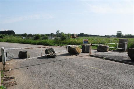 The existing Wyre Road roundabout (pic: Philip Halling via Geograph)
