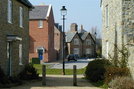 Poundbury in Dorset, a new town employing traditional local design features - image: Marilyn Peddle (CC BY 2.0)
