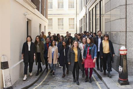 The second cohort of Public Practice associates. Image: Timothy Chase
