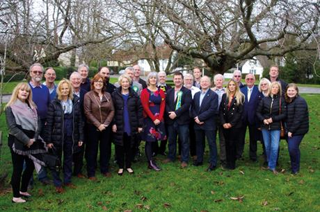 Residents for Uttlesford: the group seized control of the district council and is considering revising the local plan (pic: Residents for Uttlesford)