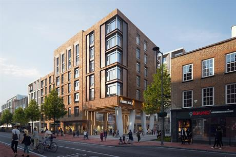A visualisation of Station Hill Reading scheme. Pic: Lincoln Property Company UK