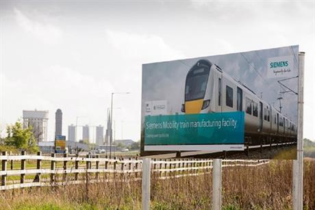 New train manufacturing facility, Goole. Pic: Siemens/East Riding Council