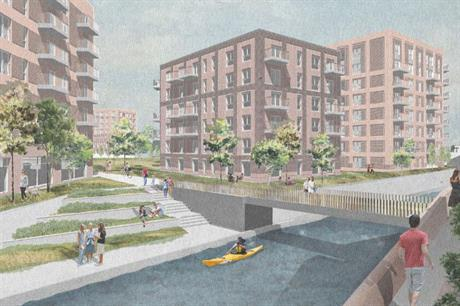 An artist's impression of plans for Soho Wharf in Birmingham. Image: Galliard Homes and Apsley House Capital