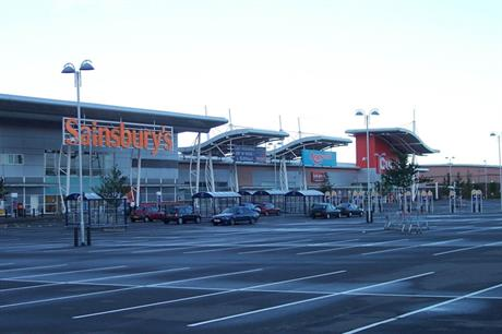 Sprucefield: major out-of-town retail park on southern edge of Lisburn