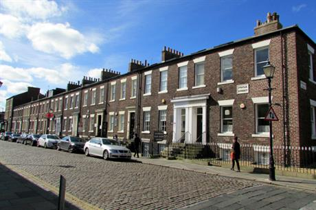 Foyle Street, Sunderland. Average housing equity in the city rose by just £3,000 over five years, the think tank said. Image: Flickr / Reading Tom