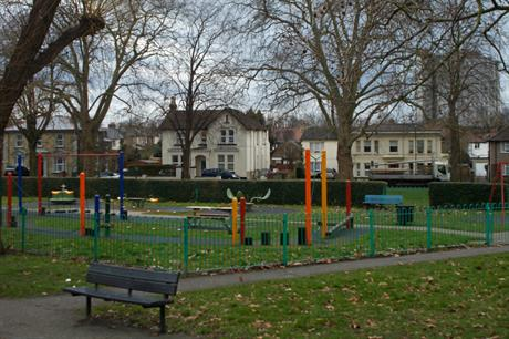 A playground in Sutton. Image: Flickr / Tony Monblat