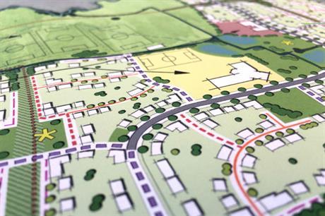 A masterplan visualisation of the Tewkesbury scheme