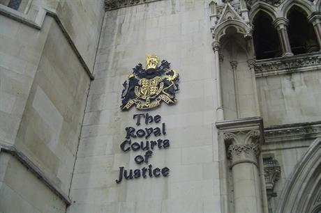 The Royal Courts of Justice. Image credit: Sherwood