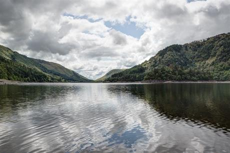 Thirlmere Reservoir in Cumbria. Pic: United Utilties