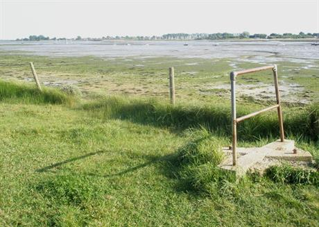 The view from Warblington across Langstone Harbour - image: Basher Eyre / geograph (cc-by-sa/2.0)