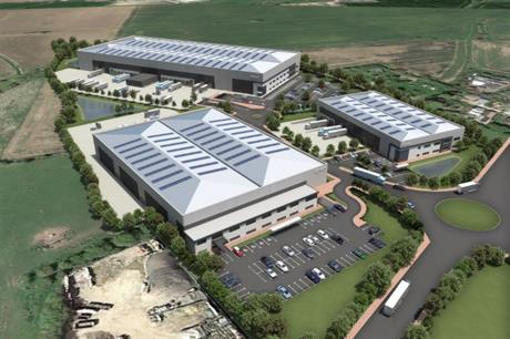 Wellingborough: A CGI of the proposed first phase at Stanton Industrial Park. Image: St. Modwen