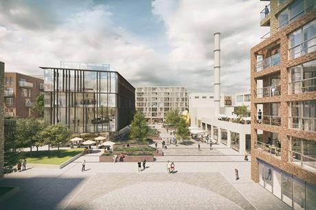 A visualisation of the Wheat Quarter development. Pic: The Wheat Quarter Ltd
