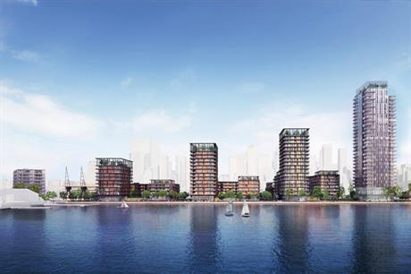 A visualisation of the Westferry development. Pic: Westferry Developments/PLP Architecture
