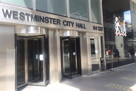 Westminster City Council: has announced revision to plan timetable