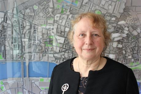 Annie Hampson: OBE for City of London planning chief