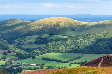 The Shropshire Hills Area of Outstanding Natural Beauty (Pic: Jim Roberts Gallery, Flickr)