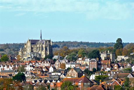 Arundel, West Sussex: bypass decision to undergo judicial review. Image by Herry Lawford, Flickr