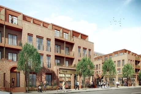 The proposed scheme on Manor Road, Richmond (Pic: Avanton Richmond Developments)