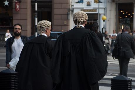 Barristers in London. Pic: Getty Images