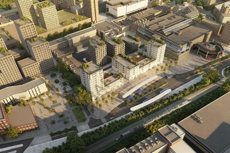A visualisation from the masterplan document (pic: Basildon Council)