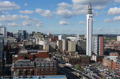 Birmingham: city planning to broaden use of compulsory purchase powers